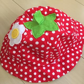シマムラ(しまむら)の苺ハット(帽子)