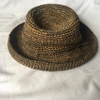 ムジルシリョウヒン(MUJI (無印良品))の麦わら帽子  無印良品  カンピ草(麦わら帽子/ストローハット)