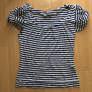 アーモワールカプリス(armoire caprice)のアーモワールカプリス ボーダーTシャツ(カットソー(半袖/袖なし))