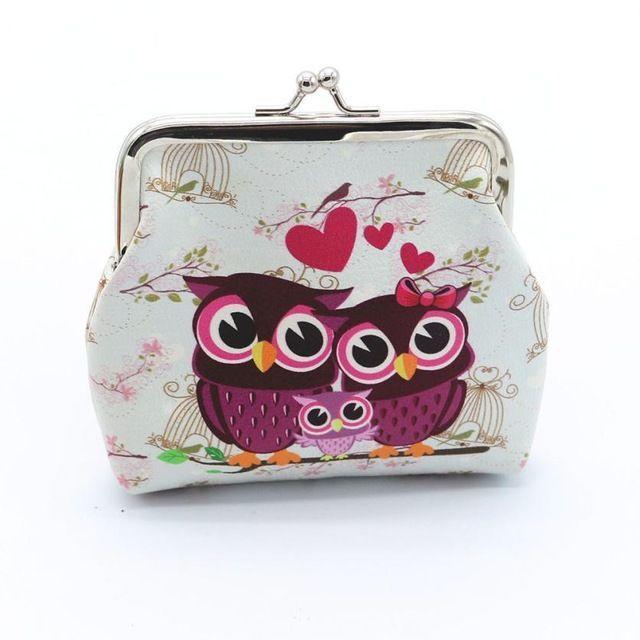 ふくろう財布 ふくろうがま口財布♪ フクロウ小銭入れ 新品未使用品 レディースのファッション小物(財布)の商品写真