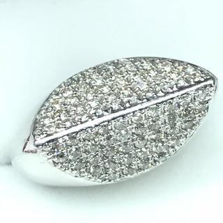 1254 ダイヤモンド 1.06ct pt900 プラチナリング 12号(リング(指輪))