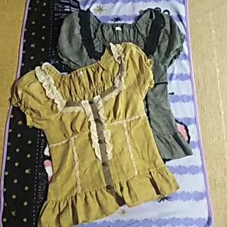 アクシーズファム(axes femme)のアクシーズトップス 2枚(Tシャツ(半袖/袖なし))