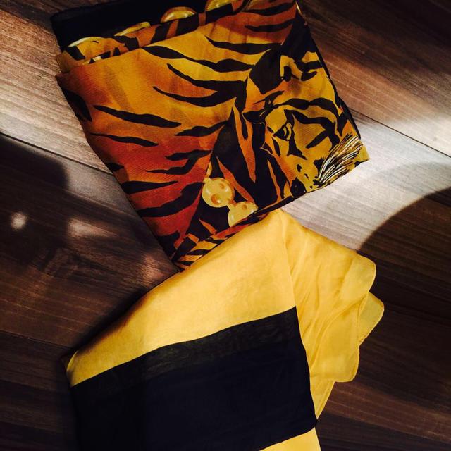 LE CIEL BLEU(ルシェルブルー)のスカーフ レディースのファッション小物(ストール/パシュミナ)の商品写真
