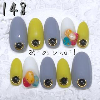 送料&カラー変更1色無料«148»ジェルネイルチップ♡*.