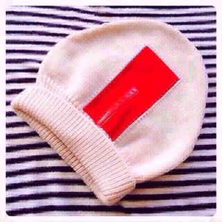 プラダ(PRADA)のPRADA ニット帽 (ニット帽/ビーニー)