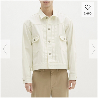 ジーユー(GU)のGU メンズ デニムジャケット(Gジャン/デニムジャケット)