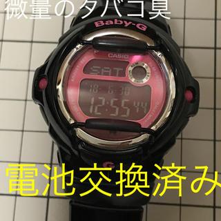 ベビージー(Baby-G)のBaby-G BG-169R CASIO タバコ臭あり(腕時計)