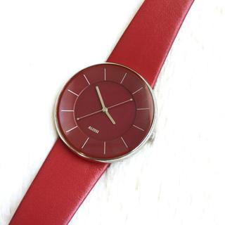 アレッシィ(ALESSI)の電池交換込み☆ ALESSI ルナ メンズ腕時計(腕時計(アナログ))
