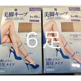 アツギ(Atsugi)のセブンプレミアム ストッキング JM〜L ゆったり Jサイズ 3足×2セット(タイツ/ストッキング)