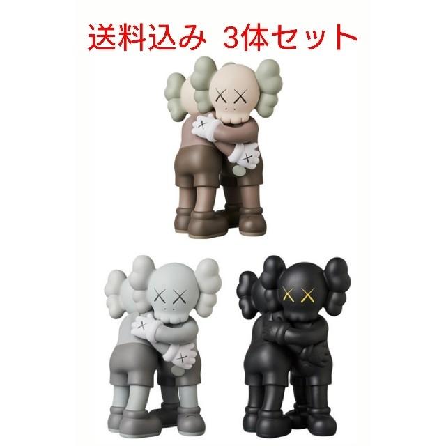 MEDICOM TOY(メディコムトイ)のKAWS TOGETHER 3体セット カウズトゥギャザー エンタメ/ホビーのおもちゃ/ぬいぐるみ(ぬいぐるみ)の商品写真