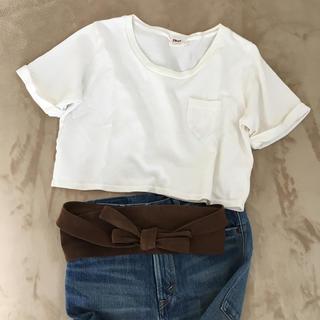 シェル(Cher)のCher Fruitcakeポケット付きTシャツ(Tシャツ(半袖/袖なし))