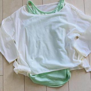 エミアトリエ(emmi atelier)のemmi タンクトップ &7部 Tシャツ セット(ヨガ)