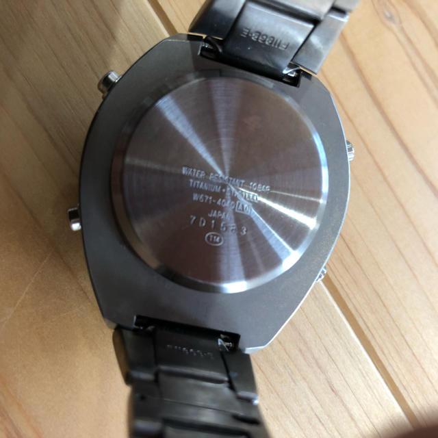 ALBA(アルバ)のアルバ スプーン チタン製 メンズの時計(腕時計(デジタル))の商品写真