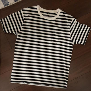 ムジルシリョウヒン(MUJI (無印良品))の無印良品★ボーダーTシャツ(Tシャツ/カットソー(七分/長袖))