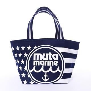 ロンハーマン(Ron Herman)の新品未使用  muta MARINE  US BAG / エコバッグ ネイビー(エコバッグ)