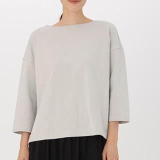 MUJI (無印良品) - 無印☆オーガニックコットンドロップショルダーTシャツ