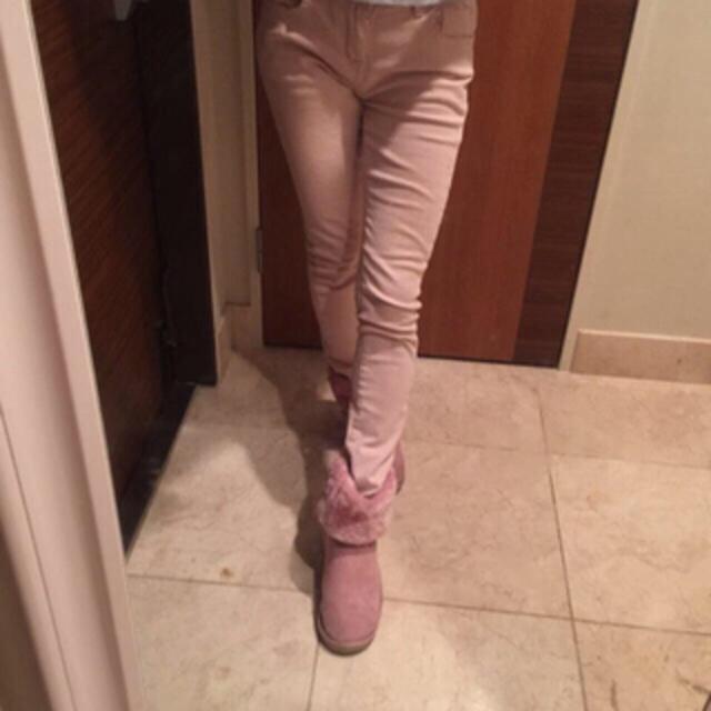 ふわもこブーツ♡珍ピンクで華やかに♡ レディースの靴/シューズ(ブーツ)の商品写真