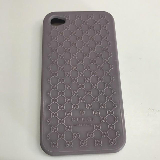 Gucci - GUCCI   iPhone 4sカバー  正規品の通販 by みーさん's shop|グッチならラクマ