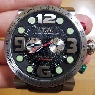 アイティーエー(I.T.A.)のITA 時計(レザーベルト)