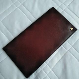 アイグナー(AIGNER)のアイグナー札入れ レザー ボルドー色濃いめ(長財布)