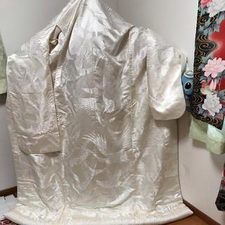 婚礼用 白無垢  正絹(振袖)