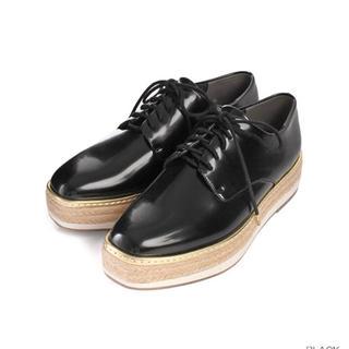 ランダ(RANDA)のRANDA ランダ 厚底レースアップシューズ Mサイズ(ローファー/革靴)