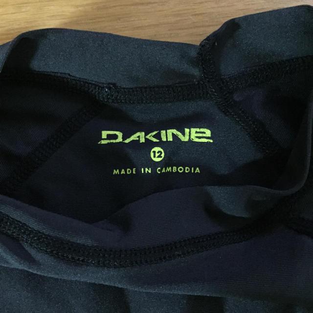Dakine(ダカイン)のDAKINE ダカイン ラッシュガード サイズ12 キッズ/ベビー/マタニティのキッズ服 男の子用(90cm~)(水着)の商品写真