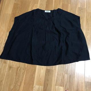 ツムグ(tumugu)のtumugu リネンプルオーバー(シャツ/ブラウス(半袖/袖なし))