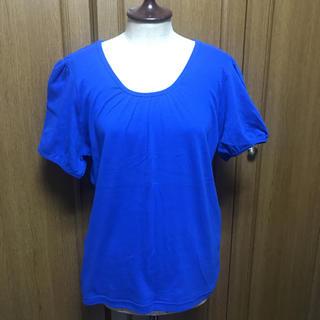 【未使用】カットソー ロイヤルブルー 3 L(カットソー(半袖/袖なし))