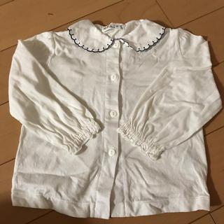 セリーヌ(celine)のCELINE長袖シャツ  90サイズ(ブラウス)