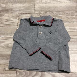 プチバトー(PETIT BATEAU)のプチバトー 6M 67cm グレー ポロシャツ(Tシャツ/カットソー)