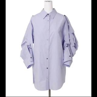 ルシェルブルー(LE CIEL BLEU)のマギー着用 アイレネ ロールアップシャツ 試着のみ (シャツ/ブラウス(長袖/七分))