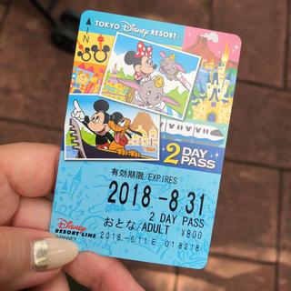 ディズニー(Disney)のディズニー モノレール 2dayフリーパス(その他)