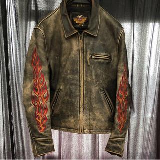 ハーレーダビッドソン(Harley Davidson)のHARLEY ヴィンテージ ライダース(ライダースジャケット)