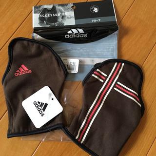 アディダス(adidas)のアディダス グローブ&asicsバスケパンツ(手袋)