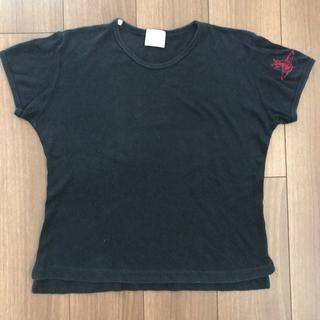 ヴィヴィアンウエストウッド(Vivienne Westwood)のお値下げ中☆vivienne westwoodGOLD TシャツM黒(Tシャツ(半袖/袖なし))