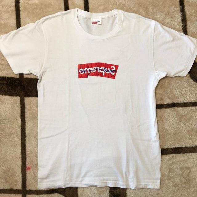 Supreme(シュプリーム)のSupreme box logo tee garcons ボックスロゴ Tシャツ メンズのトップス(Tシャツ/カットソー(半袖/袖なし))の商品写真