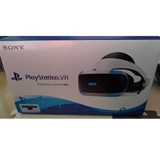 プレイステーションヴィーアール(PlayStation VR)の新品未開封!最新型PS VR camera同梱版(家庭用ゲーム機本体)