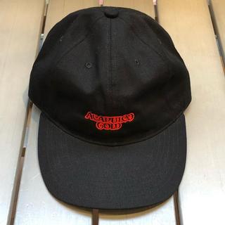 アカプルコゴールド(ACAPULCO GOLD)のAcapulcoGold NOODLE CAP BLACK(キャップ)