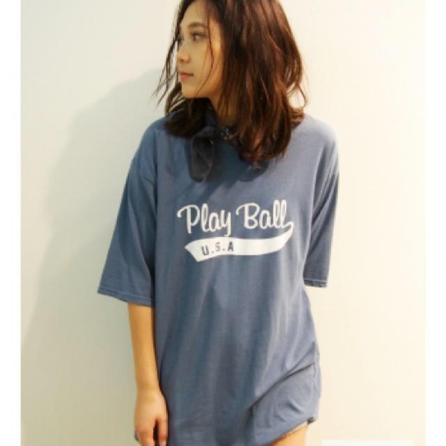 Ungrid(アングリッド)の古着ぽい大きめt シャツ メンズのトップス(Tシャツ/カットソー(半袖/袖なし))の商品写真