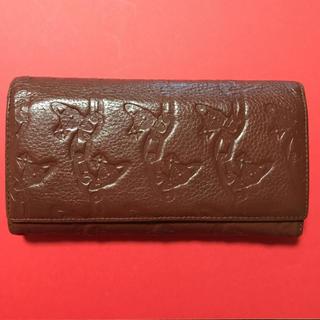 ヴィヴィアンウエストウッド(Vivienne Westwood)のブラウン長財布(財布)
