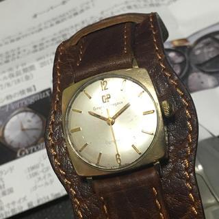 ジラールペルゴ(GIRARD-PERREGAUX)のジラール ペルゴ アンティーク ガラス交換OH済み 限界値下げ(腕時計(アナログ))