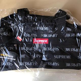 シュプリーム(Supreme)のSupreme 3M ダッフルバッグ 16aw 黒(ボストンバッグ)
