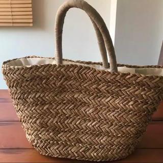 ムジルシリョウヒン(MUJI (無印良品))の使用済み 無印良品 カゴバッグ(かごバッグ/ストローバッグ)