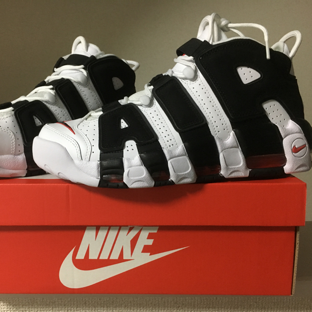 Nike Air More Uptempo SNKRS US購入品   フリマアプリ ラクマ