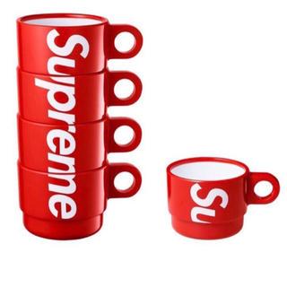 シュプリーム(Supreme)の2018SS Supreme Stacking Cups (Set of 4)(グラス/カップ)