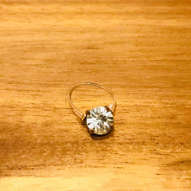 トゥーリング クリア レディースのアクセサリー(リング(指輪))の商品写真