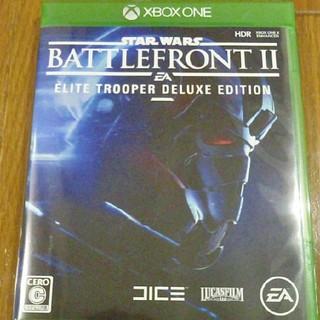 エックスボックス(Xbox)のXBOX ONE スターウォーズ バトルフロント 2(家庭用ゲームソフト)