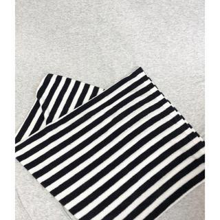 ムジルシリョウヒン(MUJI (無印良品))の無印良品 枕カバー ボーダー パイル(枕)