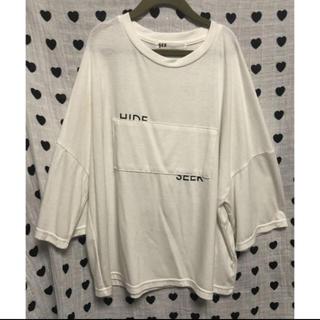 ♡HIDE AND SEEK/SERビッグシルエットTシャツ♡
